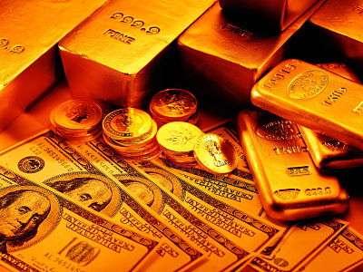 Oro y dolares